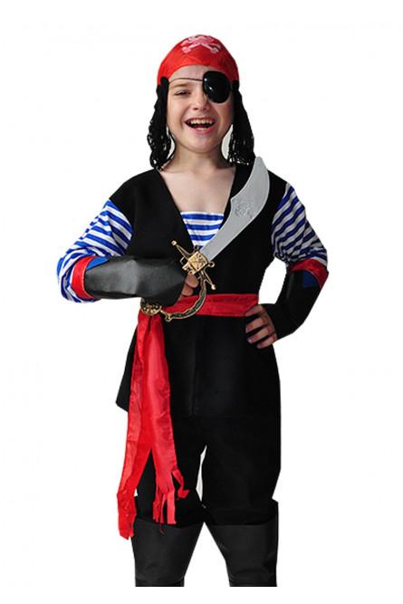 Костюм пирата с тельняшкой