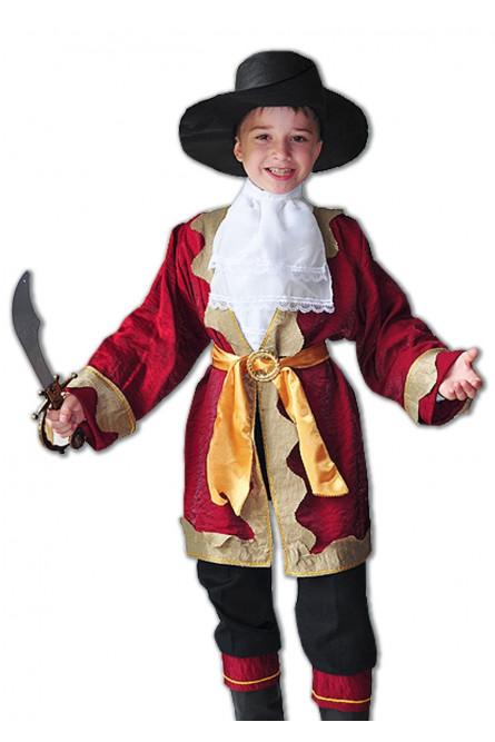 Детский костюм капитана пиратов