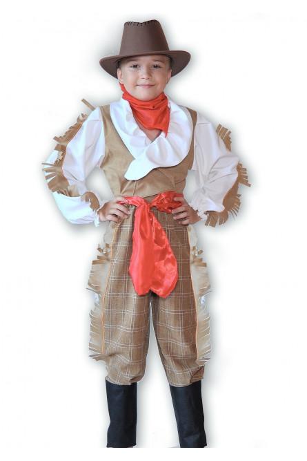 Коричневый костюм ковбоя