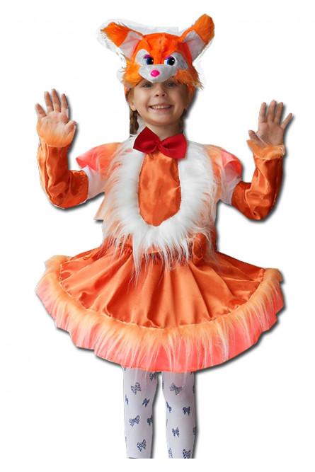 Детский костюм рыжей белочки