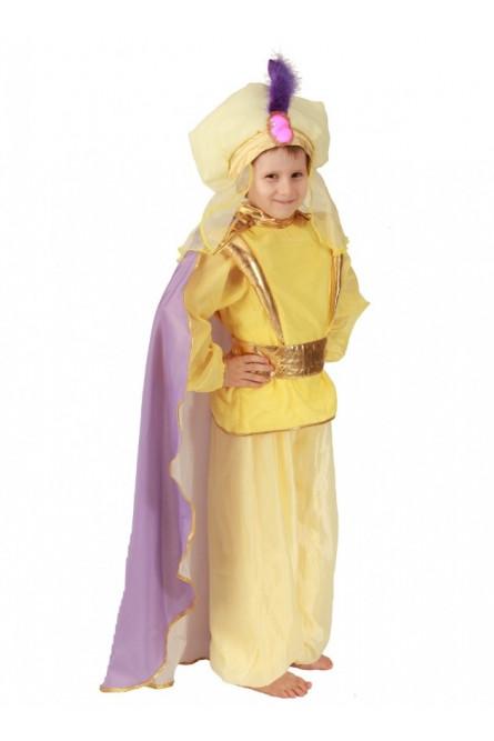 Желтый костюм Восточного принца