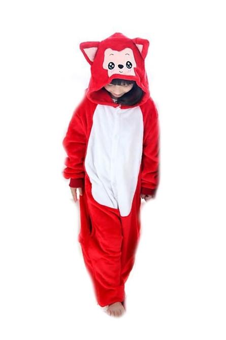 Детская пижама Кигуруми Красный котик