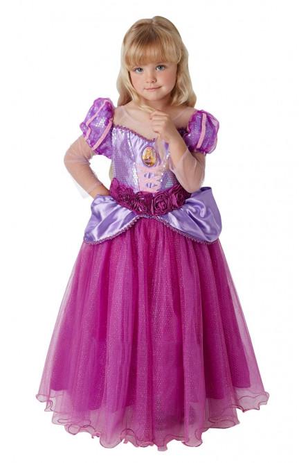 Детский костюм Рапунцель Deluxe