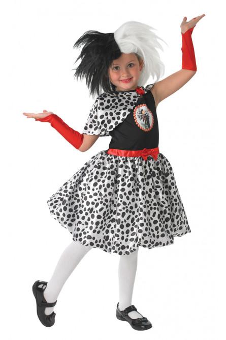 Детский костюм Круэллы де Виль