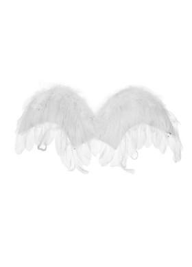 Крылья ангелочка с перьями