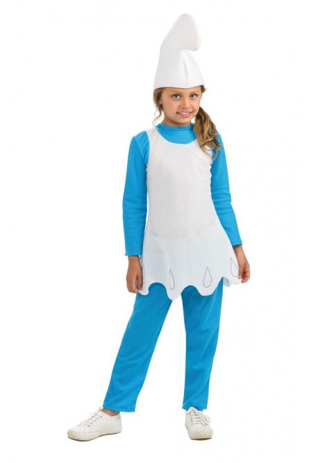 Детский костюм Смурфетты