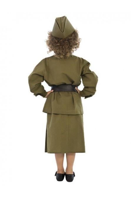 Детский военный костюм для девочек