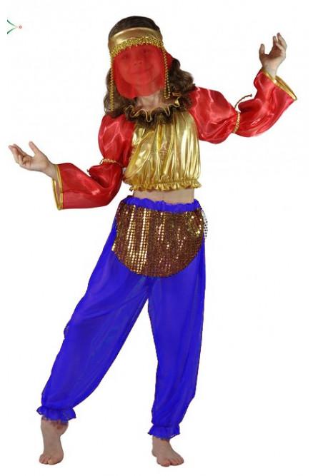 Костюм восточной танцовщицы детский