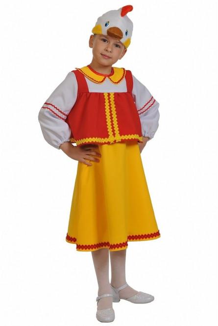 Маскарадный костюм Курочки Рябы