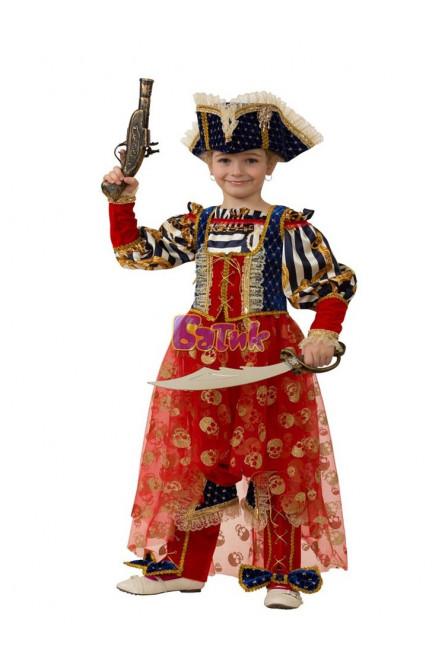 Детский костюм морской пиратки