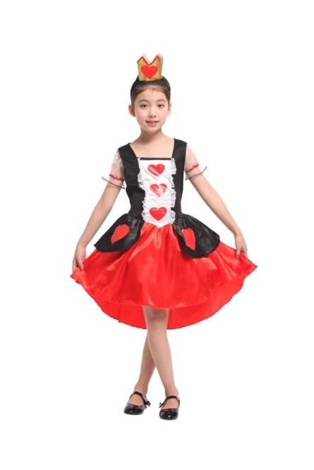 Детский костюм Королевы Сердец