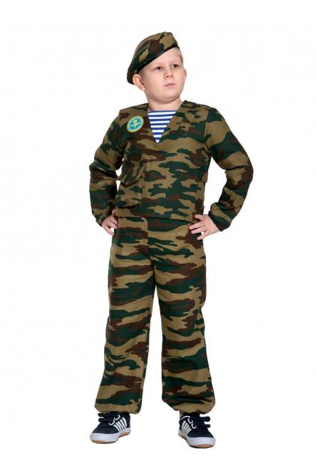 Детский костюм солдата-десантника