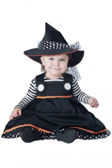 Костюм милой ведьмочки для малышей