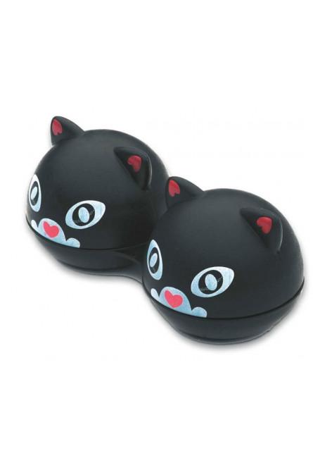 Контейнер для линз Black Cat