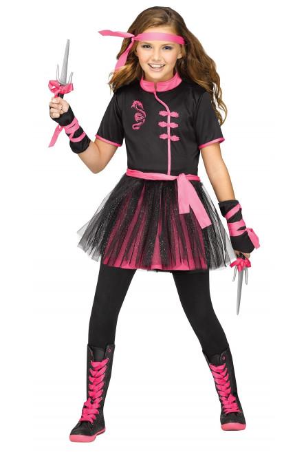 Детский костюм Мисс Ниндзя