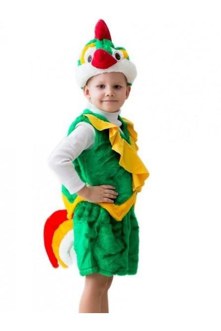 Зеленый костюм Петушка