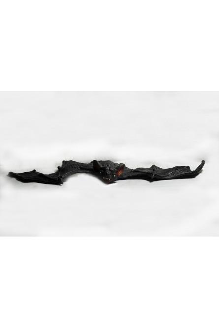Подвесная черная летучая мышь