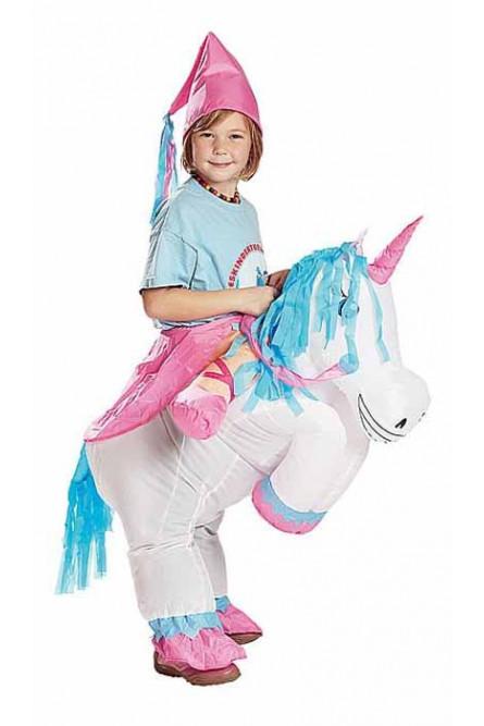 Детский надувной костюм Единорога