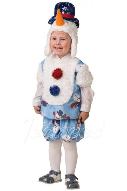 Костюм малыша-снеговика