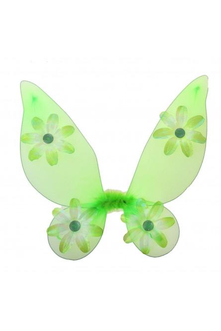 Крылья Бабочка с цветочками