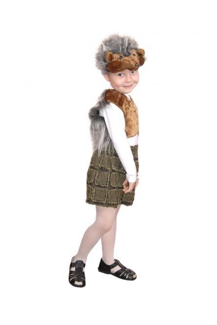 Плюшевый костюм ежика