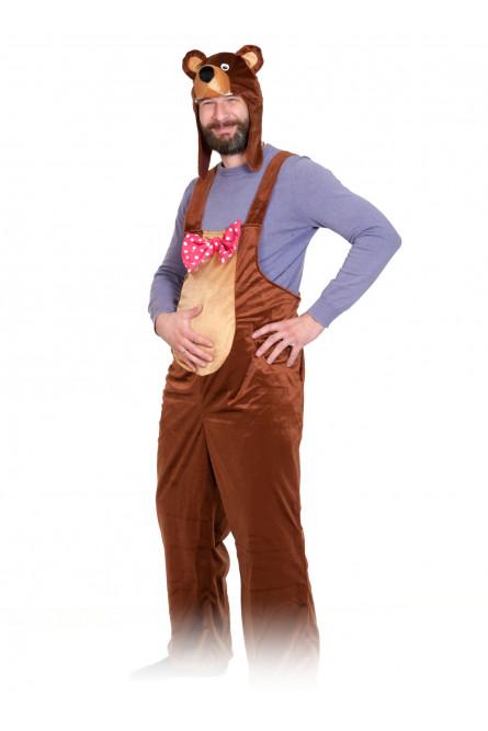 Плюшевый костюм Бурый медведь