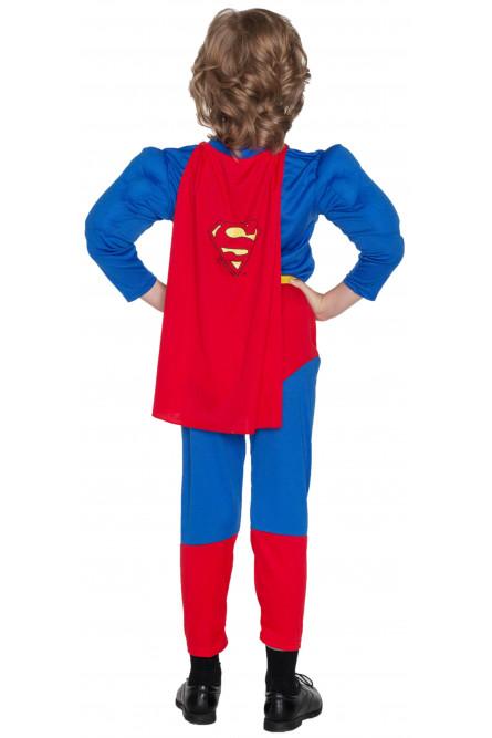 Костюм Супермена с мышцами для мальчиков