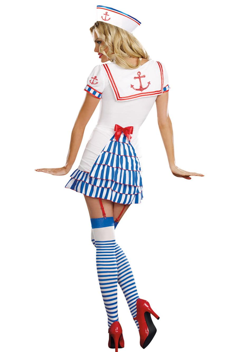 костюм морячки рисунок