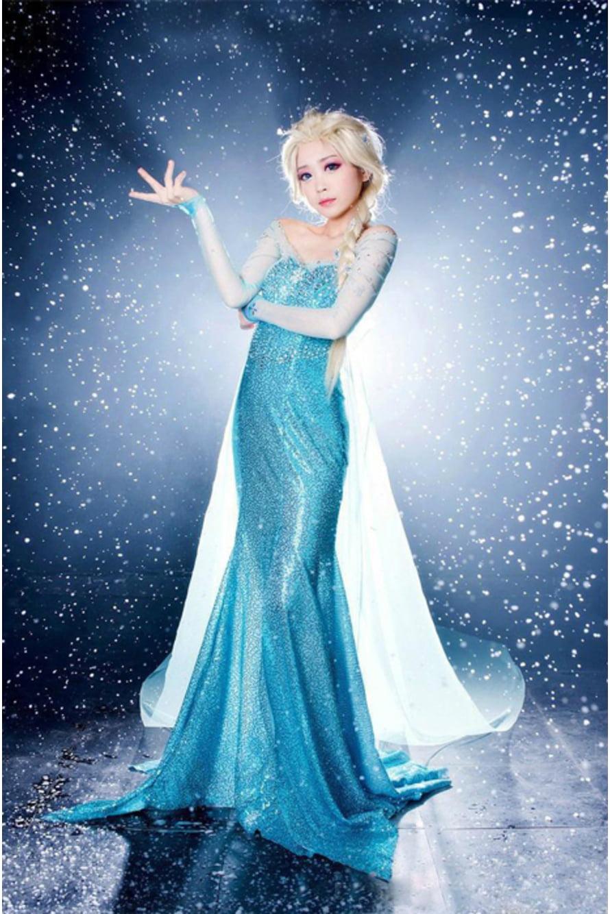 незаменимая вещь платье эльзы из холодного сердца фото примерить себя интересный