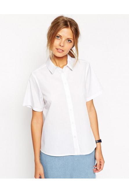 Рубашка стюардессы белая