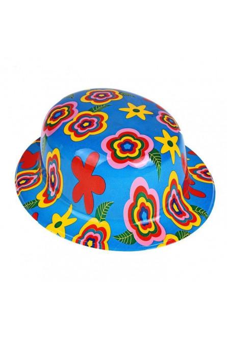 Шляпа с цветами