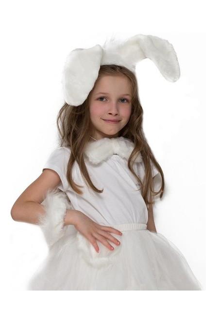 Детский комплект Зайка белый