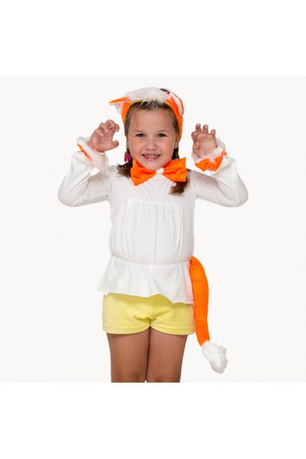 Детский комплект оранжевый котенок