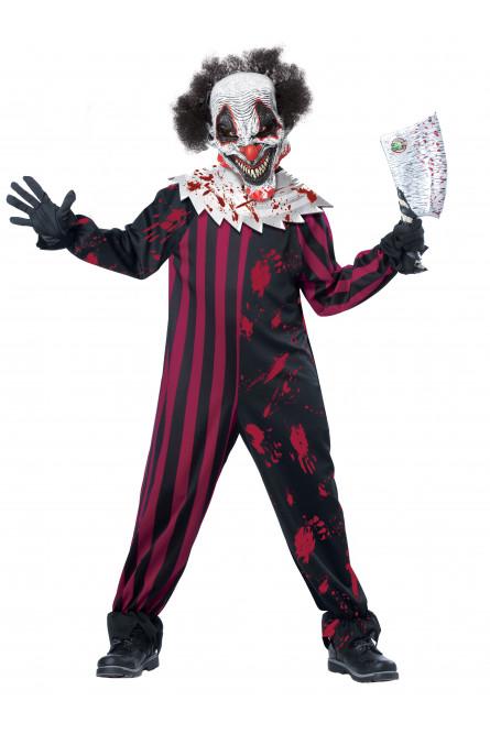 Детский Костюм Страшного Клоуна