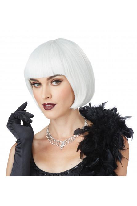 Белый парик из 20х