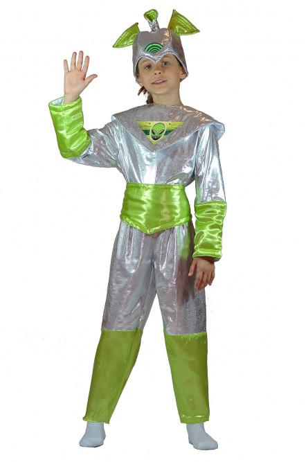 Детский костюм Зеленого Пришельца