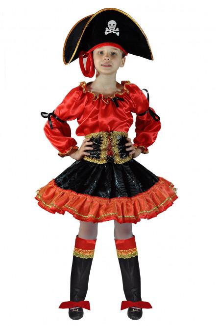 Детский костюм Красной Пиратки