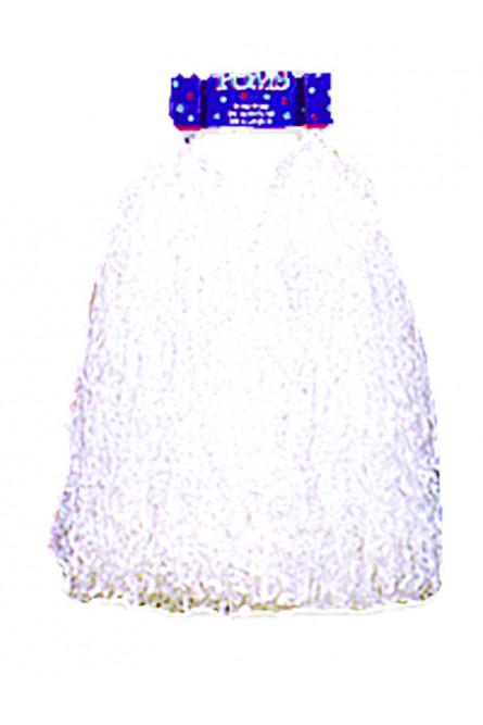 Белые помпоны