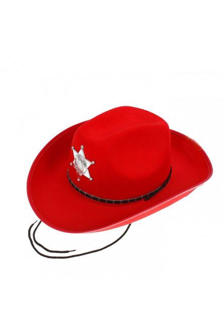 Красная шляпа шерифа