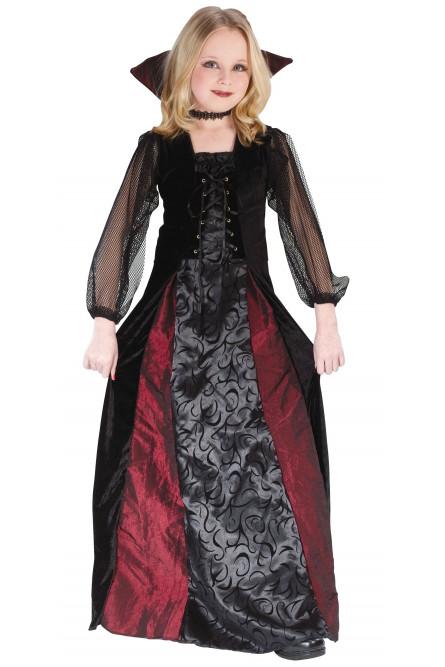 Детский костюм Мрачной Вампирши