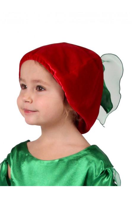 Детская шапочка Вишня