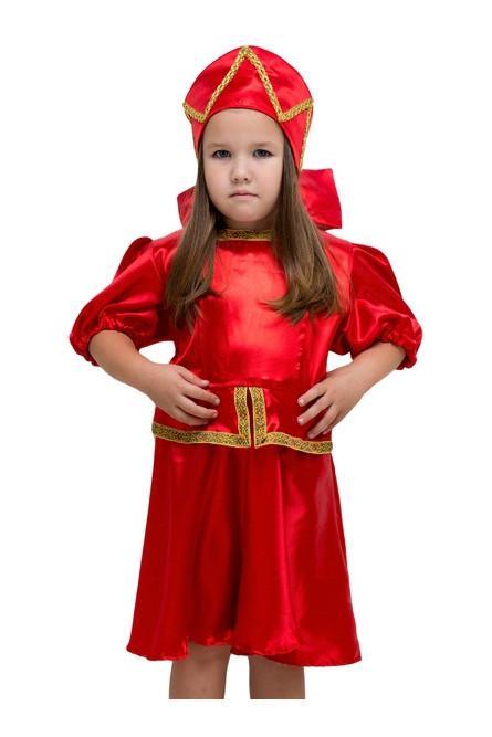 Детский костюм Красная Кадриль плясовой