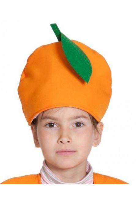 Детская шапка Апельсин