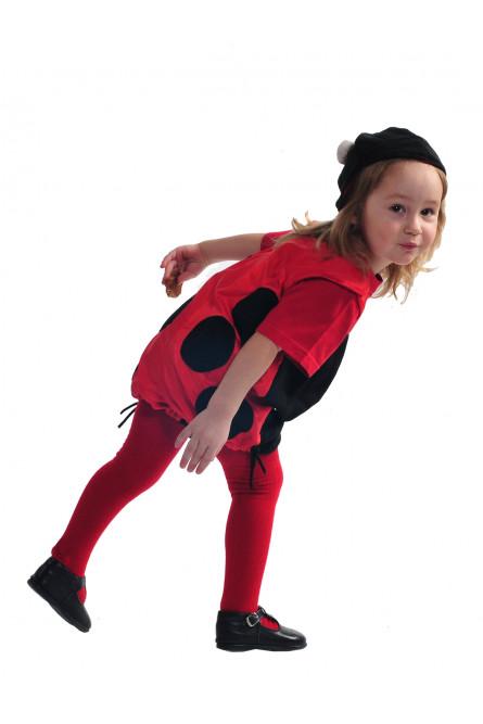 Детский костюм Красной Божьей Коровки
