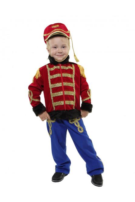 Детский костюм Гусара Люкс
