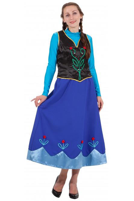 Взрослый костюм Принцессы Анны