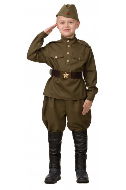Детский костюм Отважного Солдата