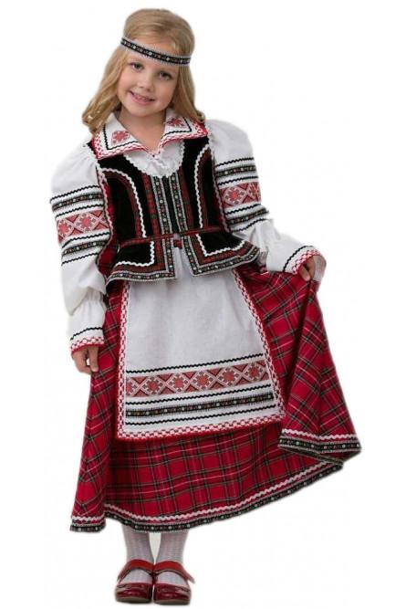 Детский национальный костюм для девочки