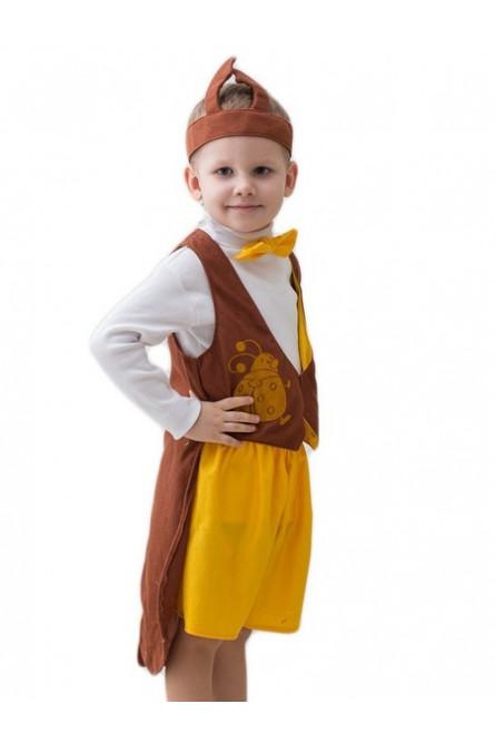 Детский костюм коричневого Жука