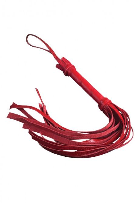 Красная мини плеть